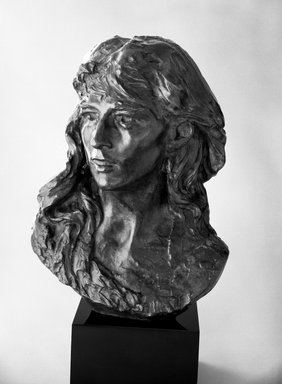 Auguste Rodin (French, 1840-1917). Mignon, 1870; cast 1966. Bronze, 16 1/4 x 11 7/8 x 10 1/8 in.  (41.3 x 30.2 x 25.7 cm). Brooklyn Museum, Gift of the Iris and B. Gerald Cantor Foundation, 85.173.2. Creative Commons-BY