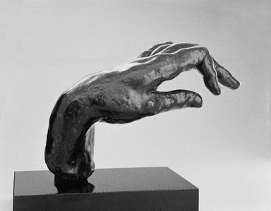Auguste Rodin (French, 1840-1917). Large Hand of a Pianist (Grande main de pianiste), n.d.; cast 1965. Bronze, 7 3/8 x 10 1/4 x 5 1/2 in.  (18.7 x 26.0 x 14.0 cm). Brooklyn Museum, Gift of the Iris and B. Gerald Cantor Foundation, 85.173.3. Creative Commons-BY