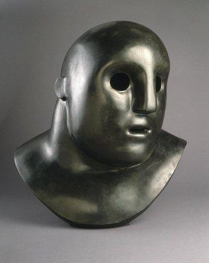 Tom Otterness (born U.S.A., 1952). Head, 1984. Bronze, 35 1/2 x 33 x 25 in. (90.17 x 83.82 x 63.50 cm). Brooklyn Museum, Gift of Henry and Cheryl Welt, 85.176. © Tom Otterness/tomotterness.net