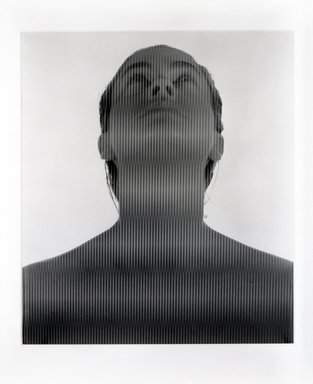Ellen Carey (American, born 1952). Untitled, 1984. Dye diffusion photograph, image: 24 x 20 7/8 in. (61 x 53 cm). Brooklyn Museum, Gift of the artist, 85.180. © Ellen Carey