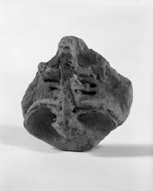 Taino. Stamp, C.E. 1000-1500. Clay, 1 1/8 x 2 1/2 x 2 1/2 in. (2.9 x 6.4 x 6.4 cm). Brooklyn Museum, Gift of Mr. and Mrs. Vincent Fay, 85.261.15. Creative Commons-BY