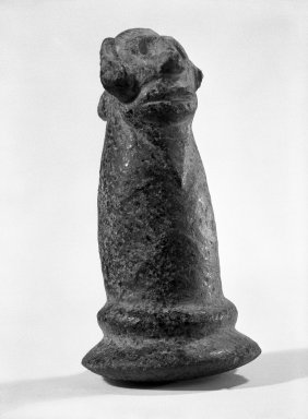 Taino. Carved Pestle, probably 20th century. Stone, 6 1/2 x 3 1/2 x 4 in. (16.5 x 8.9 x 10.2 cm). Brooklyn Museum, Gift of Mr. and Mrs. Vincent Fay, 85.261.1. Creative Commons-BY