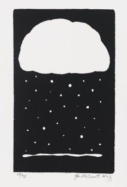John McDevitt King (American, born 1954). Season, 1984. Screenprint, Sheet: 11 3/4 x 9 in. (29.9 x 22.8 cm). Brooklyn Museum, Gift of Strother Ellwood Editions and the artist, 85.26. © John McDevitt King