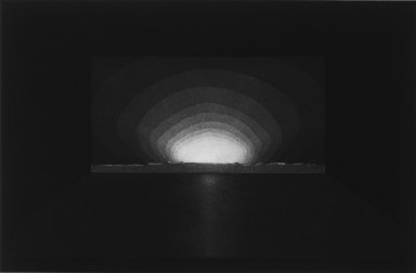 James Turrell (American, born 1943). [Untitled], 1984. Aquatint on paper, sheet: 21 1/8 x 27 in. (53.7 x 68.6 cm). Brooklyn Museum, Designated Purchase Fund, 85.30.2. © James Turrell