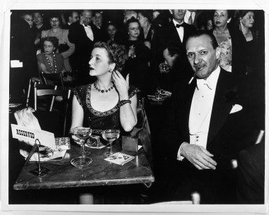 Arthur Leipzig (American, 1918-2014). Opening Night at the Opera. Gelatin silver photograph Brooklyn Museum, Gift of the artist, 86.152.10. © Arthur Leipzig