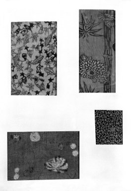 Brooklyn Museum: Mounted Specimen of Folk Textile