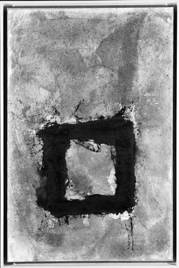 Cleve Gray (American, 1918-2004). Roman Walls, 1980. Sand, sawdust and oil paint on paper mounted on stretched fabric, 53 1/2 x 43 in. (135.9 x 109.2 cm). Brooklyn Museum, Gift of Mr. and Mrs. Robert T. Buck, 86.195. © Estate of Cleve Gray