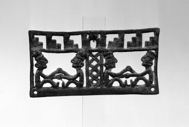 Chimú. Scale Beam, 1000 - 1500. Bronze, 2 3/16 x 4 5/16 in. Brooklyn Museum, Gift of the Ernest Erickson Foundation, Inc., 86.224.119. Creative Commons-BY