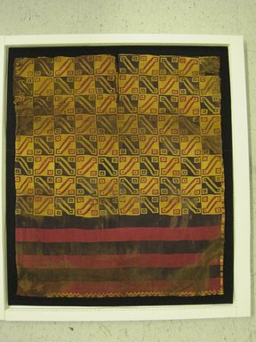 Inca. Tunic, 1400-1532. Textile. Camelid fiber, 33 7/8 x 29 1/8 in. (86 x 74 cm). Brooklyn Museum, Gift of the Ernest Erickson Foundation, Inc., 86.224.133. Creative Commons-BY