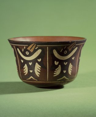 Nasca. Bowl, 100 B.C.E.-1 C.E. Ceramic, polychrome slip, 3 9/16 x 5 1/2 x 5 1/2 in. (9 x 14 x 14 cm). Brooklyn Museum, Gift of the Ernest Erickson Foundation, Inc., 86.224.14. Creative Commons-BY