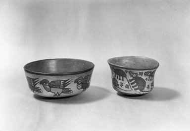 Nasca. Bowl. Ceramic, Height: 2 5/8 in. (6.6 cm). Brooklyn Museum, Gift of Ernest Erickson, 70.177.39. Creative Commons-BY