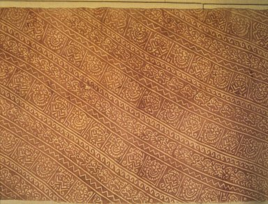 Textile, 1000-1470. Cotton, pigment, 188 1/4 x 25 1/2 in. (478.2 x 64.8 cm). Brooklyn Museum, Gift of the Ernest Erickson Foundation, Inc., 86.224.59. Creative Commons-BY
