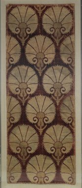 Velvet Panel, 17th century. Cut velvet, silk and silver, 55 x 23in. (139.7 x 58.4cm). Brooklyn Museum, Gift of the Ernest Erickson Foundation, Inc., 86.227.108. Creative Commons-BY