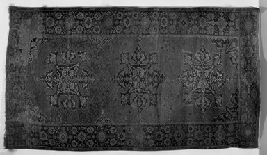 Star Ushak Carpet, 17th century. Wool, Dimensions 2005: 138 x 75 1/4 in. (350.5 x 191.1 cm). Brooklyn Museum, Gift of the Ernest Erickson Foundation, Inc., 86.227.114. Creative Commons-BY