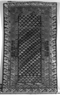 Carpet, 19th century. Wool warp, weft and pile, Old Dims: 70 x 43 in. (177.8 x 109.2 cm). Brooklyn Museum, Gift of the Ernest Erickson Foundation, Inc., 86.227.94. Creative Commons-BY