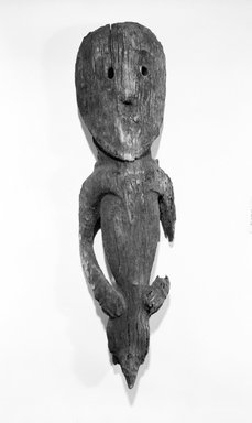 Abelam. Figure. Wood, 34 in. (86.4 cm). Brooklyn Museum, Gift of Evelyn A. J. Hall and John A. Friede, 86.229.12. Creative Commons-BY