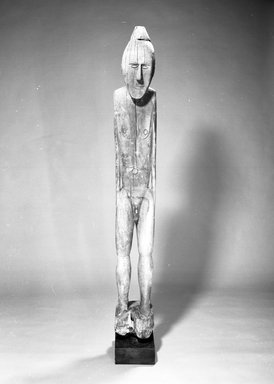 Sentani. Figure. Wood, 66 1/2 x 8 in. (168.9 x 20.3 cm). Brooklyn Museum, Gift of Evelyn A. J. Hall and John A. Friede, 86.229.16. Creative Commons-BY