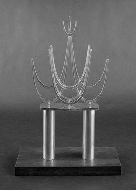 Bernard Bernstein. Torah Crown, ca. 1970. Silver, 16 3/4 x 9 x 2 1/4 in. (42.5 x 22.9 x 5.7 cm). Brooklyn Museum, Gift of Joseph and Rosalyn Newman, 86.245. Creative Commons-BY