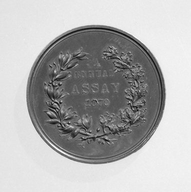 Brooklyn Museum: U. S. Mint Annual Assay Medal