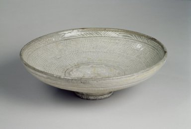 Bowl, first half of 15th century. Buncheong ware, Height: 2 1/2 in. (6.4 cm). Brooklyn Museum, Gift of Dr. and Mrs. John P. Lyden, 86.271.34. Creative Commons-BY