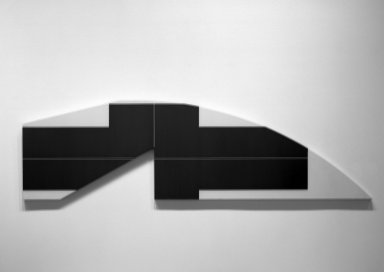 Ted Stamm. ZYR - 7, 1979. Acrylic on canvas, 32 x 113 1/2 in. (81.3 x 288.3 cm). Brooklyn Museum, Gift of the Igor Foundation, Inc., 86.29. © artist or artist's estate