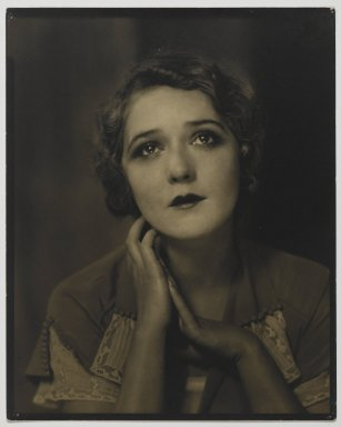 Edward Steichen (American, born Luxembourg, 1879-1973). Mary Pickford, March, 1924. Vintage silver print Brooklyn Museum, Anonymous gift in memory of Thelma and Ralph Zogg, 86.306.2. © Estate of Edward Steichen, by permission