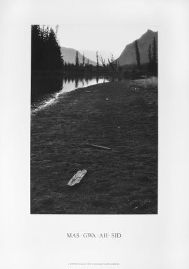 Brooklyn Museum: MA GWA AH SID, A 17 Day Walk in the Rocky Mountains of Alberta, Autumn, 1984
