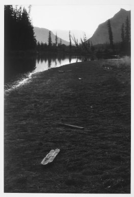 Hamish Fulton (British, born 1946). MA GWA AH SID, A 17 Day Walk in the Rocky Mountains of Alberta, Autumn, 1984, 1984. Gelatin silver photograph, Image: 29 1/2 x 20 in. (74.9 x 50.8 cm). Brooklyn Museum, Purchased with funds given by Henry and Cheryl Welt, 86.7. © Hamish Fulton