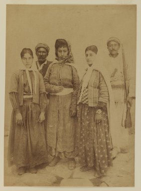 [Untitled], 19th Century. Albumen silver photograph, 13 9/16 x 10 1/2 in. (34.4 x 26.7 cm). Brooklyn Museum, Special Middle Eastern Art Fund, 86.86.11