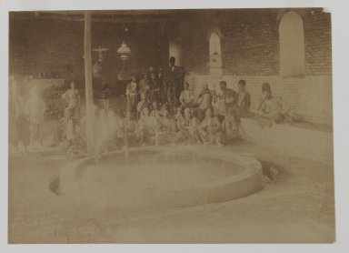 [Untitled], 19th century. Albumen silver photograph, 13 9/16 x 10 1/2 in. (34.4 x 26.7 cm). Brooklyn Museum, Special Middle Eastern Art Fund, 86.86.13