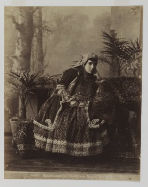 [Untitled], 19th Century. Albumen silver photograph, 13 9/16 x 10 1/2 in. (34.4 x 26.7 cm). Brooklyn Museum, Special Middle Eastern Art Fund, 86.86.14