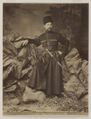 [Untitled], 19th Century. Albumen silver photograph, 13 9/16 x 10 1/2 in. (34.4 x 26.7 cm). Brooklyn Museum, Special Middle Eastern Art Fund, 86.86.15