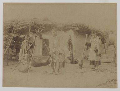 [Untitled], 19th Century. Albumen silver photograph, 13 9/16 x 10 1/2 in. (34.4 x 26.7 cm). Brooklyn Museum, Special Middle Eastern Art Fund, 86.86.16