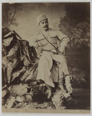 [Untitled], 19th Century. Albumen silver photograph, 13 9/16 x 10 1/2 in. (34.4 x 26.7 cm). Brooklyn Museum, Special Middle Eastern Art Fund, 86.86.8
