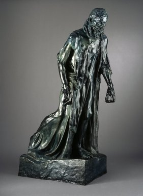Auguste Rodin (French, 1840-1917). Eustache de Saint-Pierre, Monumental (Eustache de Saint-Pierre, monumental), ca. 1886-1887. Bronze, 85 x 30 x 48 in.  (215.9 x 76.2 x 121.9 cm). Brooklyn Museum, Gift of Iris and B. Gerald Cantor, 87.106.2. Creative Commons-BY