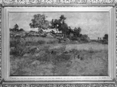 Max Weyl (American, 1837-1914). In the Kaloramas Hills, Near Washington, 1884. Oil on canvas, 15 15/16 x 23 11/16 in. (40.5 x 60.1 cm). Brooklyn Museum, Anonymous gift, 87.135.2