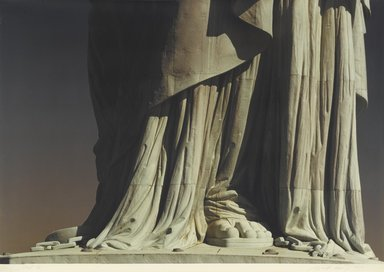 Ruffin Cooper (American, 1942-1992). Foot (Statue of Liberty), 1979. Chromogenic photograph, image: 32 3/4 x 48 1/16 in. (83.2 x 122 cm). Brooklyn Museum, Gift of the artist, 87.149.2