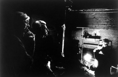 Brooklyn Museum: Warhol, Dylan and Malanga (Silhouette)