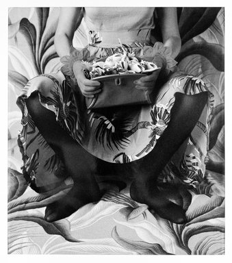 Vicki Lee Ragan (American, born 1951). The Princess and the Frogs, 1983. Dye diffusion photograph (Polaroid), Image: 24 x 30 3/4 inches. Brooklyn Museum, Purchase gift of Maurice and Lillian Barbash, 87.166. © Vicki Lee Ragan