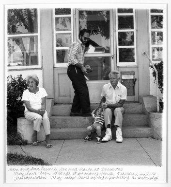 Linda Brooks (American, born 1951). Mom and Dad Panone, Joe and Aaron. Gelatin silver photograph Brooklyn Museum, Gift of the artist, 87.199.1. © Linda Brooks