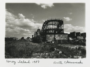 Brooklyn Museum: Coney Island (Thunderbolt)