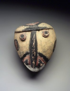 Abelam. Carved Head, late 19th-early 20th century. Wood, pigment, 6 x 5 1/4 x 5 1/2 in.  (15.2 x 13.3 x 14.0 cm). Brooklyn Museum, Gift of Marcia and John Friede and Mrs. Melville W. Hall, 87.218.31. Creative Commons-BY