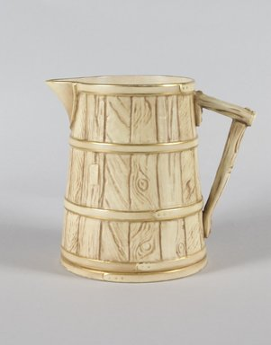 Worcester Royal Porcelain Co. (founded 1751). Pitcher, ca. 1885. Porcelain, 6 3/4 x 7 1/2 x 5 1/4 in. (17.1 x 19.1 x 13.3 cm). Brooklyn Museum, Gift of Dr. and Mrs. George Liberman, 87.223.17. Creative Commons-BY