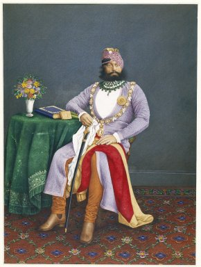 Brooklyn Museum: Maharaja Jaswant Singh of Marwar