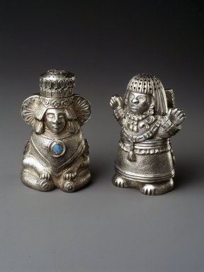 Brooklyn Museum: Salt or Pepper Shaker, One of Pair