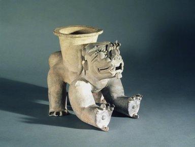 Jama Coaque. Effigy Vessel, 1-600 C.E. Ceramic, 12 3/4 x 16 1/4 x 13 in. (32.4 x 41.3 x 33 cm). Brooklyn Museum, Gift of Mr. and Mrs. Tessim Zorach, 88.57.2. Creative Commons-BY