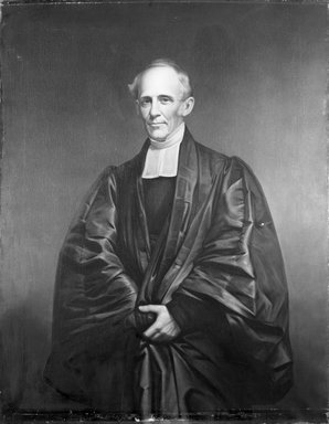 James Frothingham (American, 1786-1864). Reverend Dr. Cutler, ca. 1860. Oil on canvas, 56 1/8 x 43 7/8 in. (142.5 x 111.5 cm). Brooklyn Museum, Gift of Charles N. Peed, 99.4