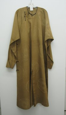 Man's Long Coat with Buttons, early 20th century. Brass, 52 3/4 x 78 3/4 in. (134 x 200 cm) width is at sleeves. Brooklyn Museum, Brooklyn Museum Collection, 34.1478. Creative Commons-BY