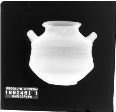 Pyxis Imitating Mycenaean Ware. Pottery, Paint, 4 13/16 in. (12.2 cm). Brooklyn Museum, Gift of Harvey A. Herbert, 1992.46.1. Creative Commons-BY