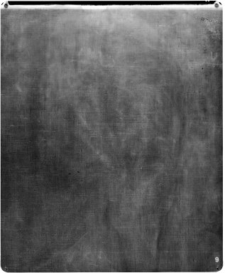 """Edgar Degas (French, 1834-1917). Portrait of Mlle Fiocre in the Ballet """"La Source"""" (Portrait de Mlle...E[ugénie] F[iocre]: à propos du ballet """"La Source""""), ca. 1867-1868. Oil on canvas, 51 1/2 x 57 1/8 in., 166 lb. (130.8 x 145.1 cm, 75.3kg). Brooklyn Museum, Gift of James H. Post, A. Augustus Healy, and John T. Underwood, 21.111"""